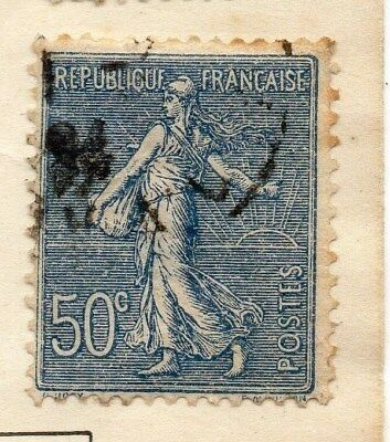 France 1921 Early Issue Fine Used 50c. 112370
