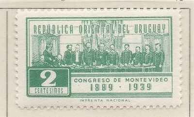 Uruguay 1939 Early Issue Fine Mint Hinged 2c. 111196