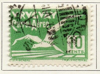 Uruguay 1928 Early Issue Fine Used 10c. 111208
