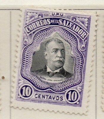 El Salvador 1906 Early Issue Fine Mint Hinged 10c. 111258