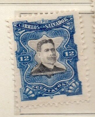 El Salvador 1910 Early Issue Fine Mint Hinged 12c. 111292