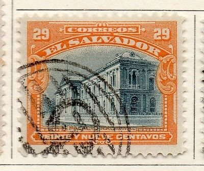 El Salvador 1912 Early Issue Fine Used 29c. 111313