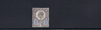 GREAT BRITAIN GB 1902-10 KEVII (SG 242 or 244 5 pence) VF MH