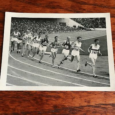 6 Olympic Cards From Helsinki 1952