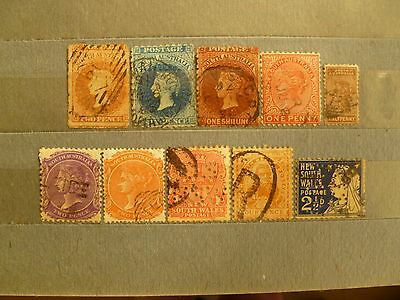 British South Australia & South Wales old valuable stamp collection.