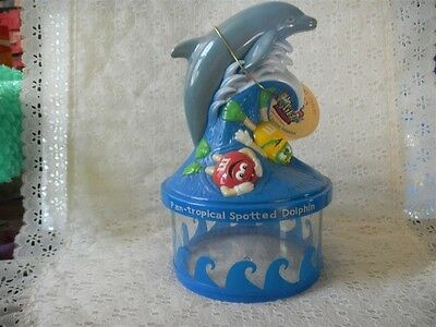 M & M Candies Bank Spotted Dolphin Endangered Wildlife Banks Green & Yellow Cha