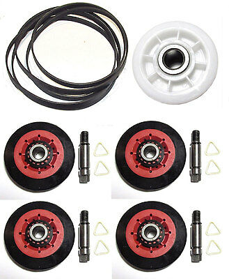 4581El2002C  4560El3001A 4400El2001F Dryer Drum Roller Belt Pulley Kit For Lg