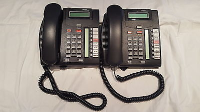 LOT OF 2 Nortel Networks T7100 Commercial Office Business Intercom Phone