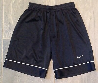 Youth Nike Black Athletic Shorts, Size Small