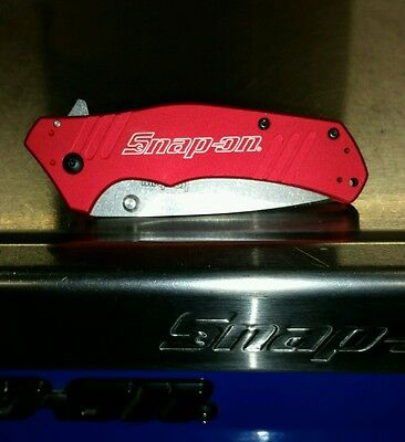 1870Rdso Snap On Tools Kershaw Red Knife - New No Box