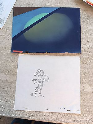 Pink Panther Production Background And Drawing! Original Art Movie 3