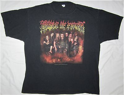 CRADLE OF FILTH Tightening The Grip 2007 Size 2XL Black T-Shirt