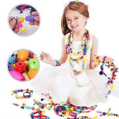 New Child Conectors Snaps Pop Beads Necklace DIY Pop-Arty Toys Kids' Xmas Gifts