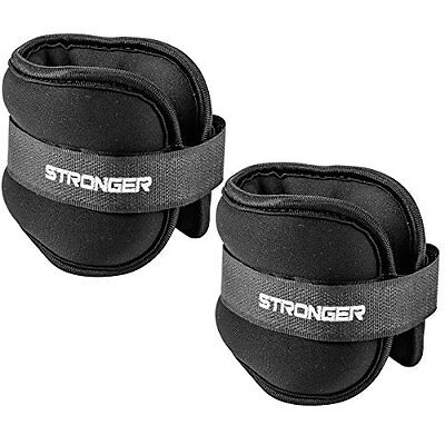 Premium Ankle Weights By Stronger 2 X 2 Pounds ? Durable Ankle Weights for Ab, &