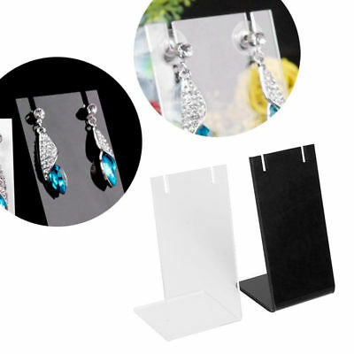 Plastic Necklace Chain Pendant Earring Bust Neck Display Stand Holder Showcase
