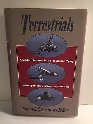 Terrestrials Modern Approach to Fly Fishing Tying w Synthetic Natural Materials