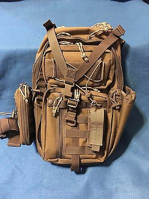 Maxpedition SITKA Gearslinger- Khaki-Foliage and Includes Janus Pouch and Sheath