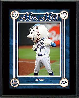 New York Mets Mascot Sublimated 10.5'' x 13'' Plaque