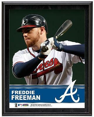 "Freddie Freeman Atlanta Braves Sublimated 10.5"" x 13"" Plaque"