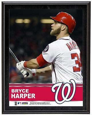 "Bryce Harper Washington Nationals Sublimated 10.5"" x 13"" Plaque"