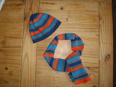 Boys Hat And Scarf Age 8-12 Years