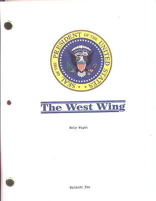 """THE WEST WING show script """"Holy Night"""""""