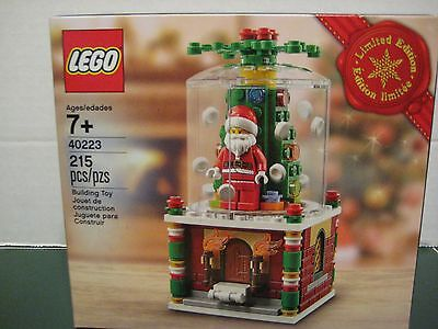 Lego Exclusive #40223 SnowGlobe Limited Edition 2016