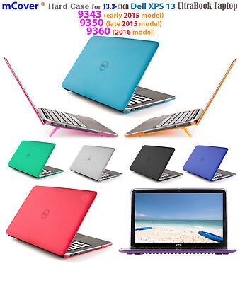 """mCover® HARD Shell CASE for 13"""" Dell XPS 13 9343 9350 9360 models after 2015"""