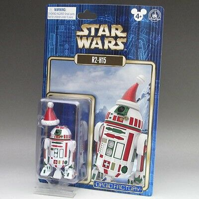 NEW 2015 Christmas STAR WARS R2-H15 Figure Santa Claus WDW DL Holiday