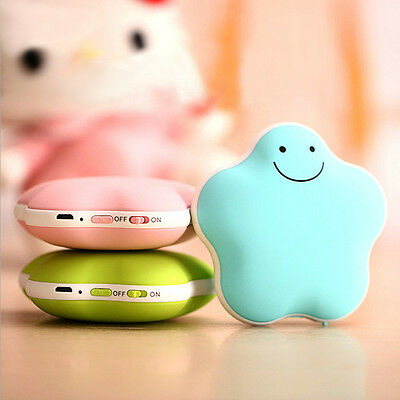 Star Multifunction Hand Warmer Charging Battery USB Power Bank Electric Heater