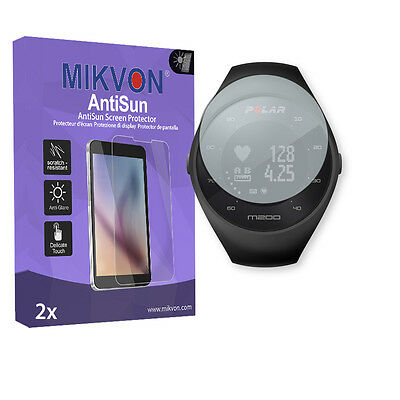 2x Mikvon AntiSun Screen Protector for Polar M200 Retail Package + accessories