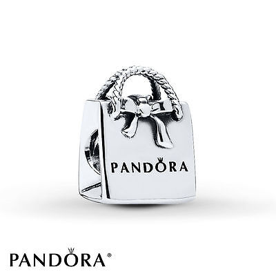 Pandora S925 Ale Bag Charm With Tissue And Pop-up Box