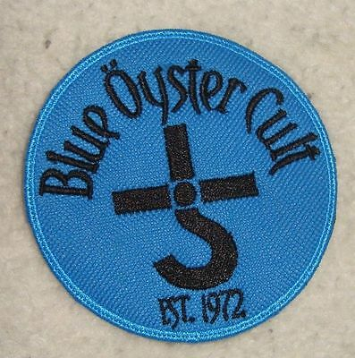 BLUE OYSTER CULT - LOGO Embroidered PATCH
