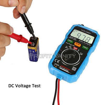 SainSmart DMT100 Mini Digital Multimeter DC/AC Voltage Current Tester