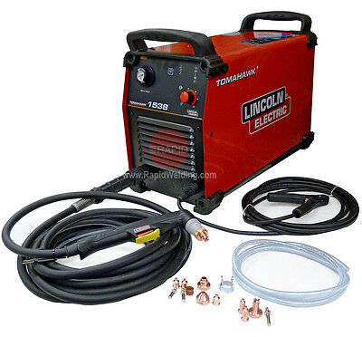 Lincoln Electric Tomahawk 1538 Plasma Cutter, with 7.5m Torch 35mm Cut, 400v