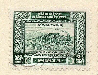 Turkey 1929-30 Early Issue Fine Used 2.5k. 112035