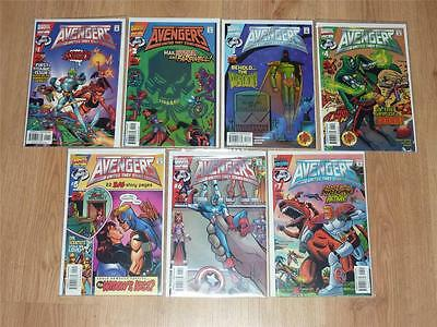 Avengers: United They Stand #1-7 Complete Set - Marvel 1999 - VFN+ to NM-