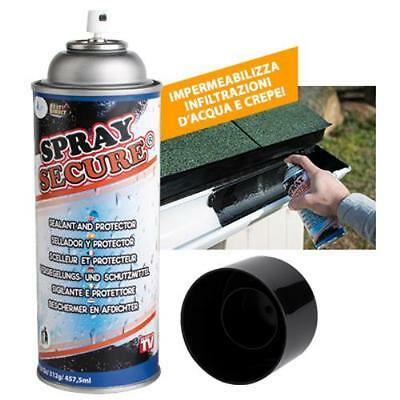 Spray Secure Sigillante Impermeabile Per Crepe Fori Su Qualsiasi Superficie