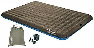 Lightspeed Outdoors 2-Person PVC-Free Air Bed W/ Battery Operated Pump,