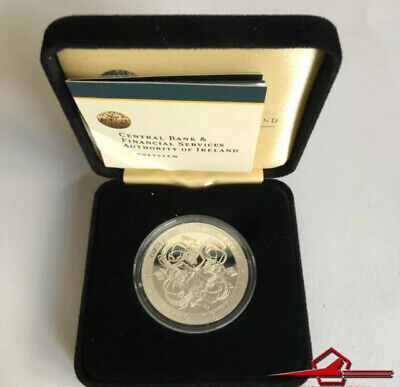 IRISH COMMEMMORATIVE SILVER COINS. 10€. CELTIC CULTURE, 2007. With Box.