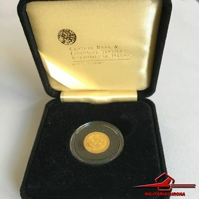 IRISH COMMEMMORATIVE GOLD COINS. 20€. CELTIC CULTURE, 2007. With Box.