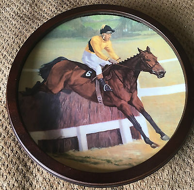 Royal Doulton Arkle Large Plate Collector's Gallery Ltd Ed Roger Coleman Vgc