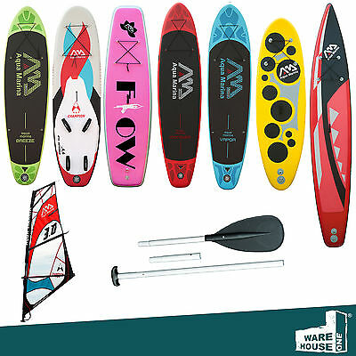 AQUA MARINA SUP / STAND UP/ VAPOR / RACE / MONSTER / Surfboard / Paddle / Pumpe