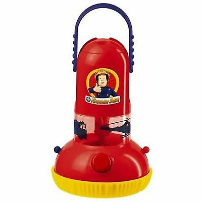 Fireman Sam Boys Toy Torch Play Lantern Light With Vehicle Silouettes Maker New