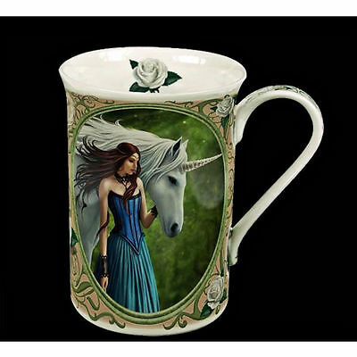 Enchanted Pool Mug by Anne Stokes Fine China Collectable with Gift Box