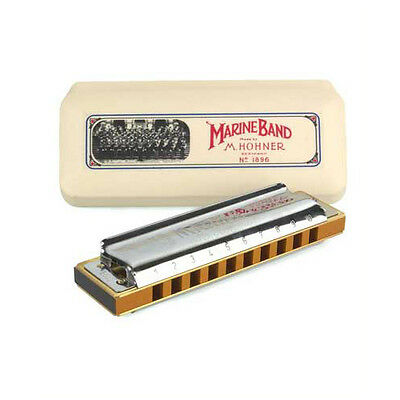Hohner Marine Band 1896 Harmonica - A. Pro Quality at a sensible price.