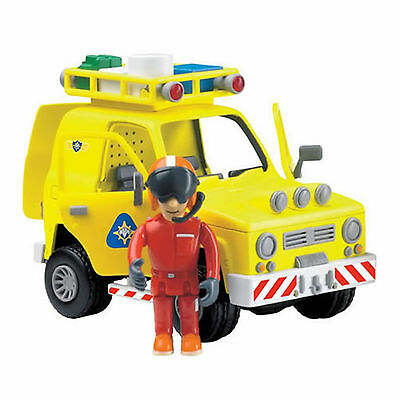 Fireman Sam Rescue Vehicle with Articulated Tom Figure Toy Playset New