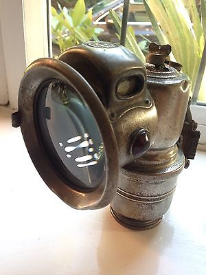 Vintage carbide bicycle Lamp. New Revenue lamp.Birmingham