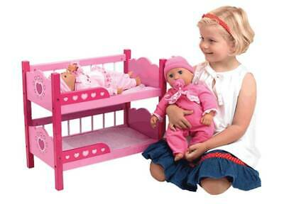 NEW Dolls World Wooden Bunk Beds from Mr Toys Toyworld