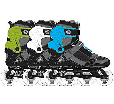 POWERSLIDE CELL Replacement Cuff blue incl. Laces 2010 cyan
